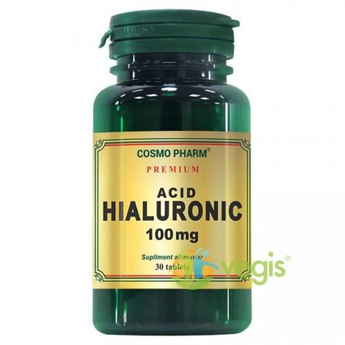 Acid Hialuronic 100mg 30tb Premium