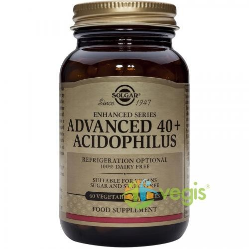Advanced 40+ Acidophilus(Probiotice) 60cps Vegetale