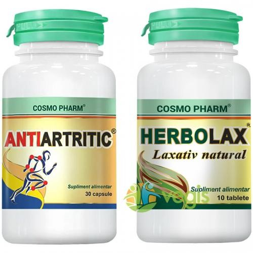 Antiartritic 30cps + Herbolax 10cps - Suplimente - Capsule, Comprimate