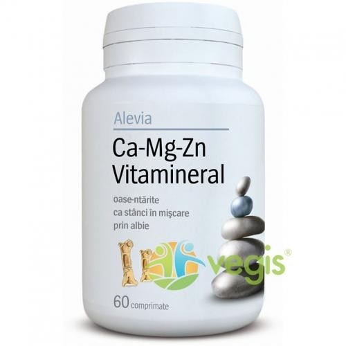 Ca-Mg-Zn Vitamineral 60cpr - Suplimente - Vitamine, Minerale & Multivitamine