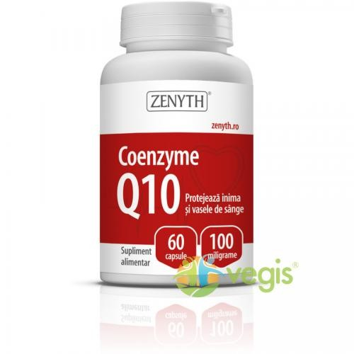 Coenzyme Q10 100mg 60cps - Suplimente - Capsule, Comprimate