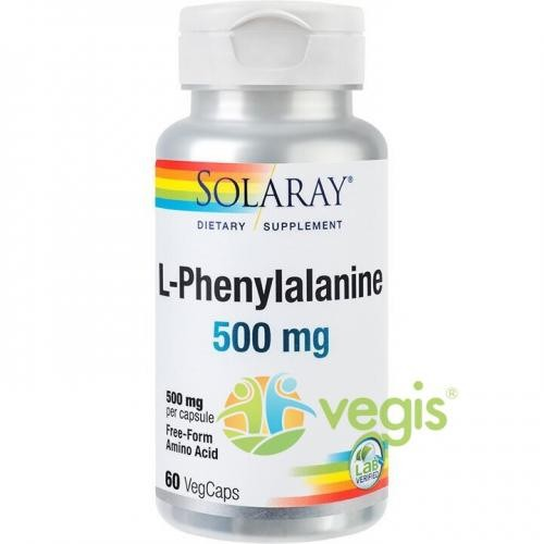 L-Phenylalanine 500mg 60cps(L-Fenilalanina) - Remedii - Remedii Capsule, Comprimate