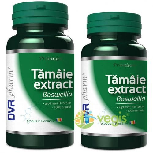 Tamaie Extract (Boswellia) Pachet 60cps + 30cps - Suplimente - Capsule, Comprimate