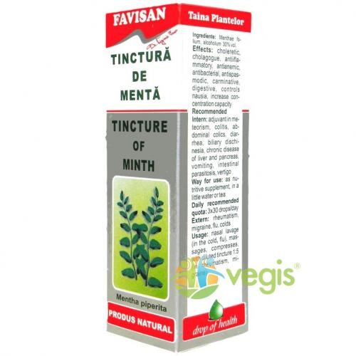 Tinctura De Menta 50ml - Remedii - Tincturi simple