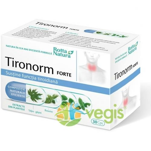 Tironorm Forte 30cps - Remedii - Remedii Capsule, Comprimate