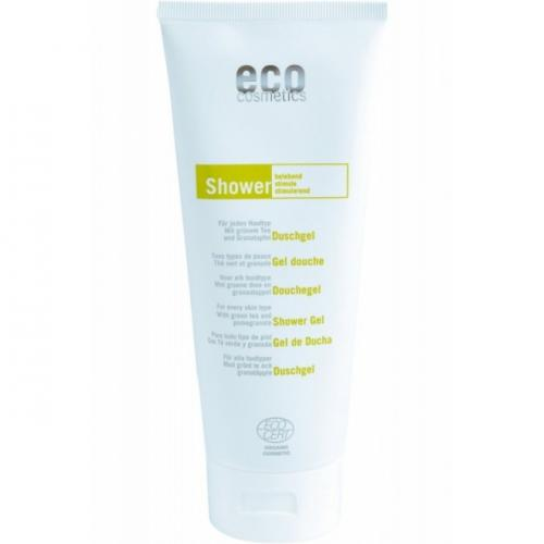Gel de dus natural cu rodie si ceai verde - Eco Cosmetics - 200 ml - Cosmetice - Gel dus