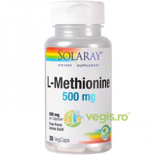 L-Methionine 500mg 30cps (L-Metionina)
